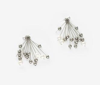 Rain Drops Earrings - PEARL