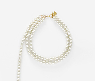 Dropped Pearl Necklace 30% SALE