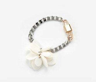 Shell Flower Chain Bracelet