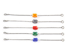 Colorful Stone Chain Bracelet (5 colors)