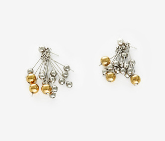 Rain Drops Earrings - METAL