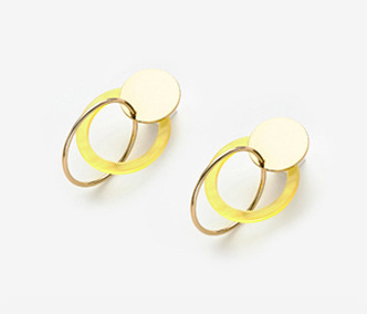 Structural Circles Earrings