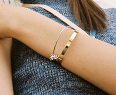 Usual Simple Bangle C