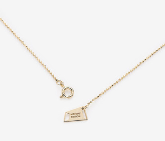 [PRECIOUS] ME Tag Chain Necklace