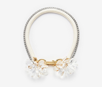 [Monday Edition] Crystal Flower Rope Necklace (20%off)