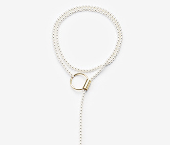 [Monday Edition] Three Ways Pearl Long Necklace (20%off)