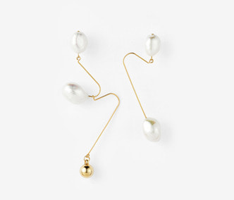 [Monday Edition] Ugly Pearl Earrings