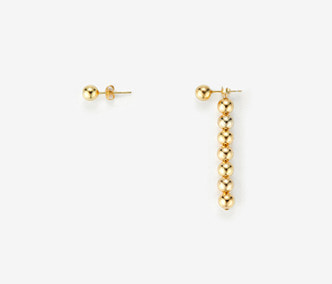 [Monday Edition] Dropped Bells Unbalanced Earrings (20%off)