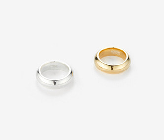 [Monday Edition] Bold Twin Silver Rings (20%off)