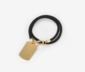 [Monday Edition] Soldier Tag Bracelet (or Choker) (30%off)