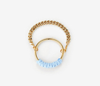 [Monday Edition] Color Rope Chain Bracelet