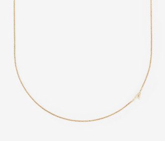 [PRECIOUS] Initial Chain Necklace (A-Z) (15%off)