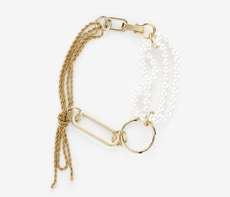 [Monday Edition] Big Shape Rope Chain and Pearl Necklace