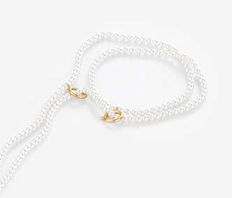 [Monday Edition] Linked Pearl Long Necklace
