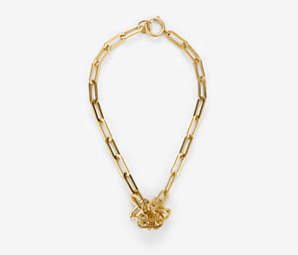 Bold Chain Knot Necklace