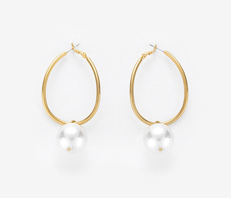 [Monday Edition] Big Pearl Wave Earrings