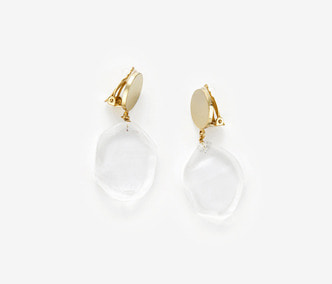 [ME x Mowani] Drop Glass Earrings