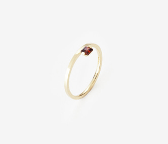[PRECIOUS] Birthstone Ring Garnet - January (15%off)
