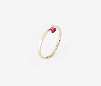 [PRECIOUS] Birthstone Ring Ruby - July (15%off)