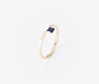 [PRECIOUS] Birthstone Ring Sapphire - September (15%off)