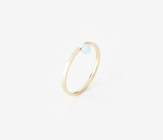 [PRECIOUS] Birthstone Ring Opal - October (15%off)