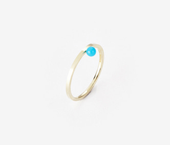 [PRECIOUS] Birthstone Ring Turquoise - December (15%off)