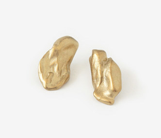 [Monday Edition] Bold Baroque Gold Earrings