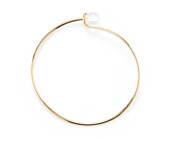 [usual ME] acrylic simple bangle (15%off)