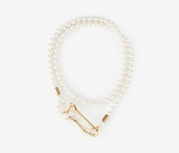 [Monday Edition] Big Locking Pearl Necklace (20%off)
