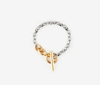 [Monday Edition] Simple Chain T Bracelet (20%off)