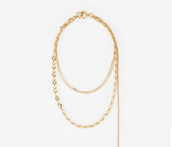 [Monday Edition] Chain Layered Necklace