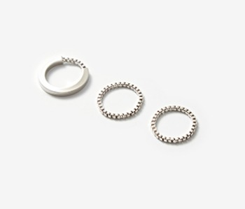 [Monday Edition] Simple Phorcys Ring Set (15%off)