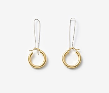 Simple Chunky Hoop Earrings
