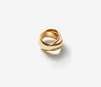 [Monday Edition] Bold Mobius Ring (20%off)