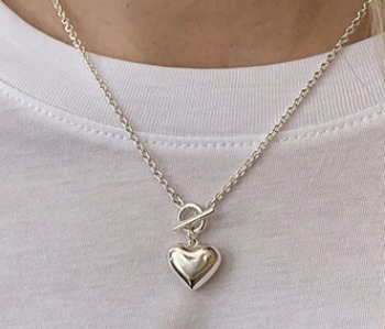 [usual ME] Pounding Heart Necklace (15%off)