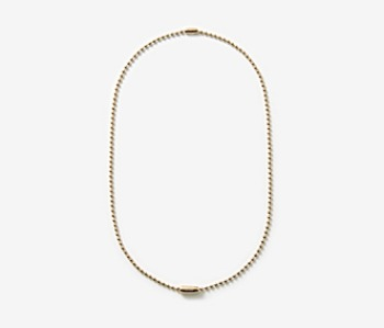 [MEdMAN] golden simple ball chain necklace (10%off)
