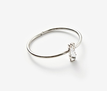 Crystal Cup Bangle (15%off)