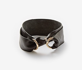 Black Ring Lock Choker (15%off)