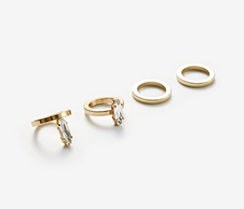 Medusa Eyes Ring Set (15%off)