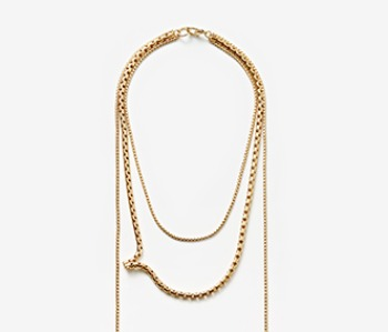 Movement Layered Necklace (15%off)