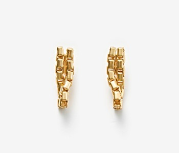 Twin Movement Earrings