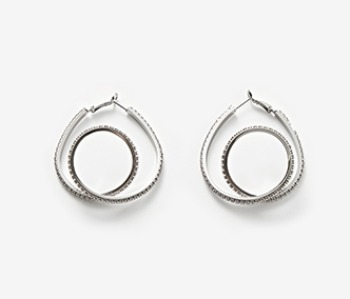 Middle Coil Itself Earrings