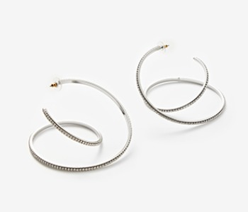Big Coil Itself Earrings (15%off)