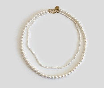 The Basic Pearl Becklace SET (15% off)