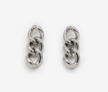 New Bold Chain Earring (10% off) (2주예약배송)