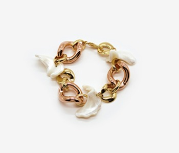 Lilium Chain Bracelet (10% off) (2주예약배송)