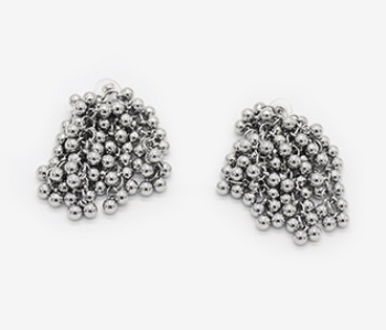 Tiny Ball Bundle Chain Earrings (10% off)