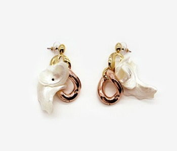Lilium Pendant Earrings (10% off) (2주예약배송)