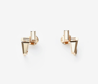 [PRECIOUS] Baguette Stud Double Earrings Ver. 2