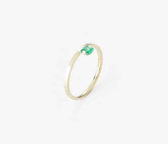 [PRECIOUS] Birthstone Ring Emerald - May